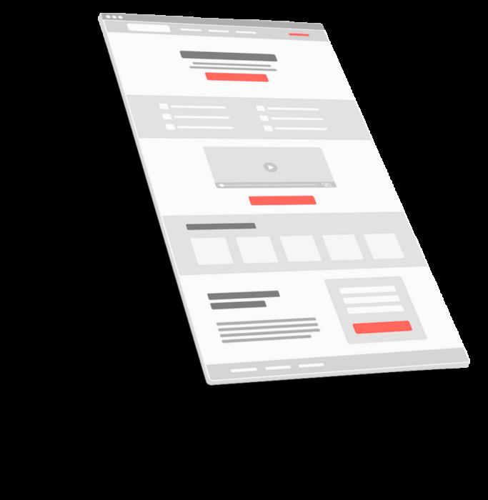 Webseitenaufbau Template